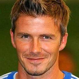 David Beckham dating 2021