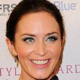 Emily Blunt dating 2021