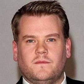 James Corden dating 2020