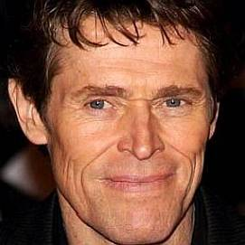 Willem Dafoe dating 2021