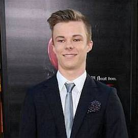 Nicholas Hamilton dating 2021 profile