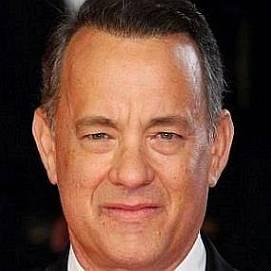Tom Hanks dating 2020