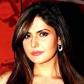 Zareen Khan dating 2021