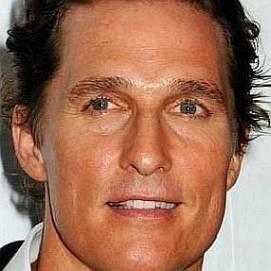Matthew McConaughey dating 2020