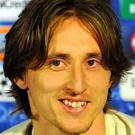 Luka Modric dating 2021
