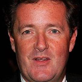 Piers Morgan dating 2021