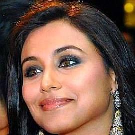 Rani Mukerji dating 2021