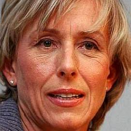 Martina Navratilova dating 2021
