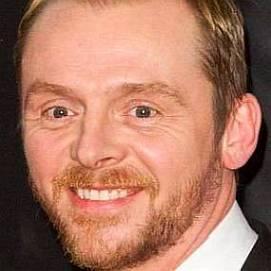 Simon Pegg dating 2021
