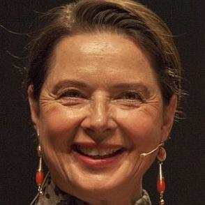 Isabella Rossellini dating 2021 profile