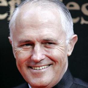 Malcolm Turnbull dating 2021