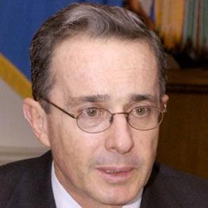 Alvaro Uribe dating 2021