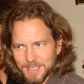 Eddie Vedder dating 2021