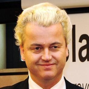 Geert Wilders dating 2021