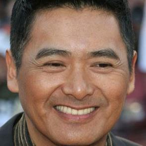 Chow Yun Fat dating 2021